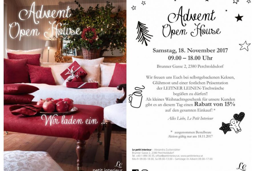 Open House am 18.11.