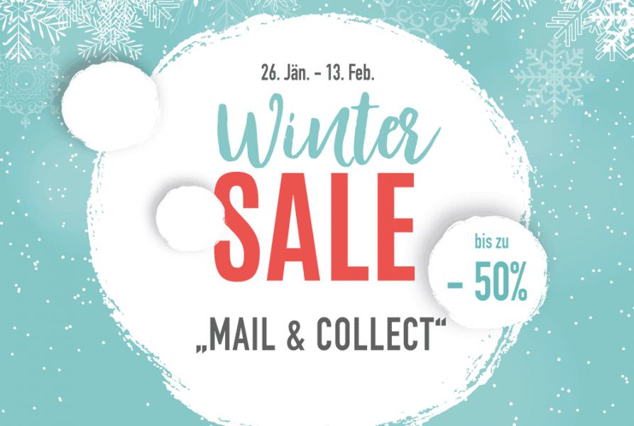 "WINTERSALE ""Mail & Collect"""